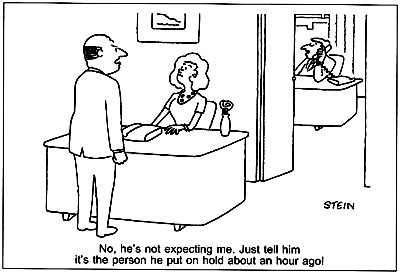 Unfriendly Receptionist …! | Humorous Dispassionate